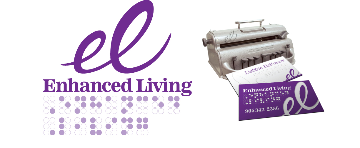 Enhanced Living produces products for the visually impaired.